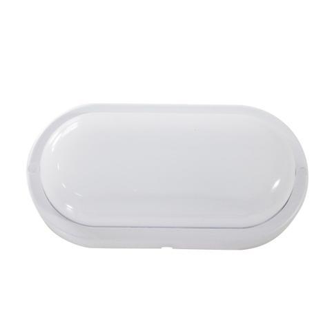 Imagem de 4X arandela tartaruga LED 12W luminária externa 3000k Branco Quente bivolt - Arandela Branca ST607