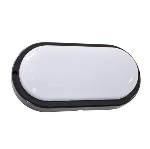 Imagem de 4X arandela tartaruga LED 12W Preta luminária externa 3000k Branco Quente bivolt ST607