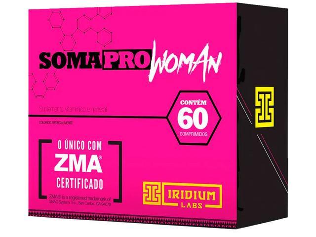 Imagem de 4x Soma Pro Woman Zma 60 Caps - Iridium Labs + Luva