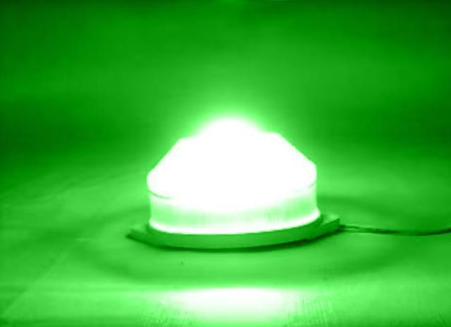 Imagem de 5 Lâmpadas Strobo 127V / 3,5W - Fixação Tartaruga - Cor Verde (RESISTENTE À ÁGUA)