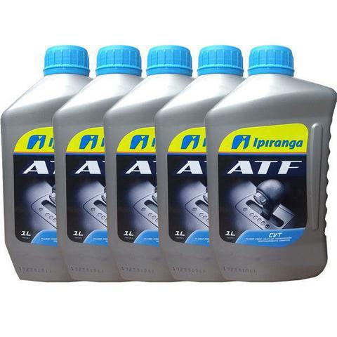 Imagem de 5 litros oleo cambio atf cvt sintetico ipiranga - kit01010