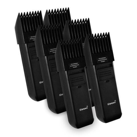Imagem de 6 Maquinas De Cortar Cabelo Aparar Barba Rifeng Super Premium