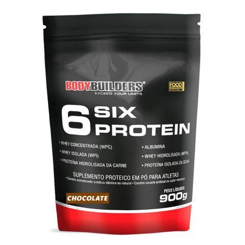 Imagem de 6 Six Protein Refil 900g Exclusivo - Bodybuilders