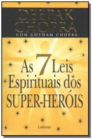 Imagem de 7 leis espirituais dos super- herois, as