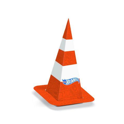 Imagem de 8 Caixas Mini Cone com Aplique Hot Wheels Dec. Festas