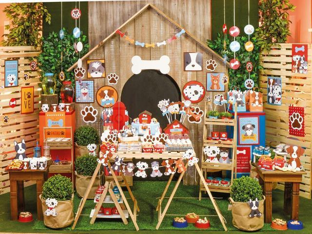 Imagem de 8 Sacola Surpresa Cachorrinhos 15X29Cm Dec. Festas