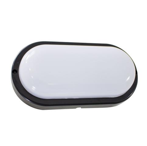 Imagem de 9X arandela tartaruga LED 12W Preta luminária externa 3000k Branco Quente bivolt ST607