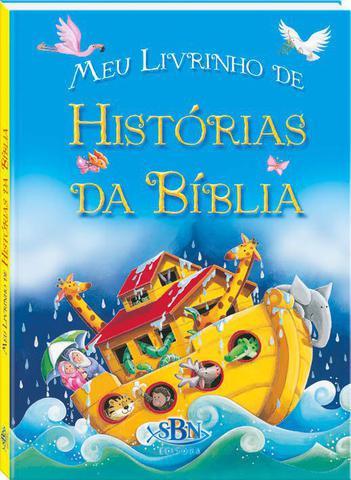 Imagem de A Bíblia Do Bebê Infantil Ilustrada Meu Livrinho de Histórias da Biblia