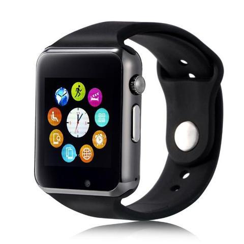 Imagem de A1 Relógio Inteligente Smart Watch Bluetooth Chip Android S7 Preto