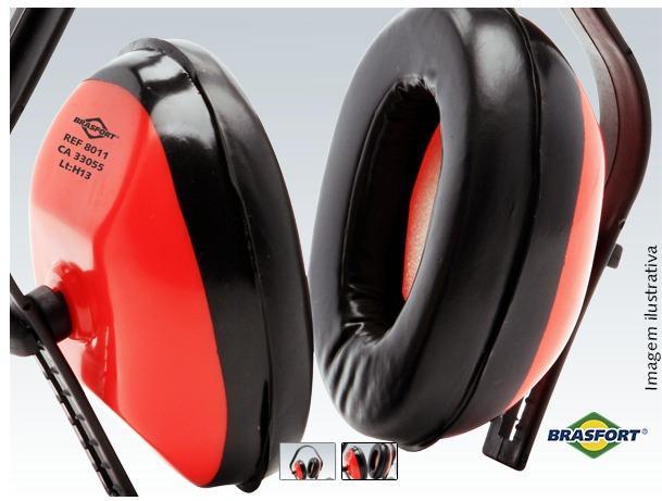 Imagem de Abafador Ruído Tipo Concha Protetor Auricular Ouvidos