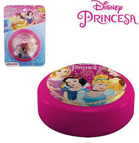 Imagem de Abajur / luminária de toque infantil de led a pilha princesas