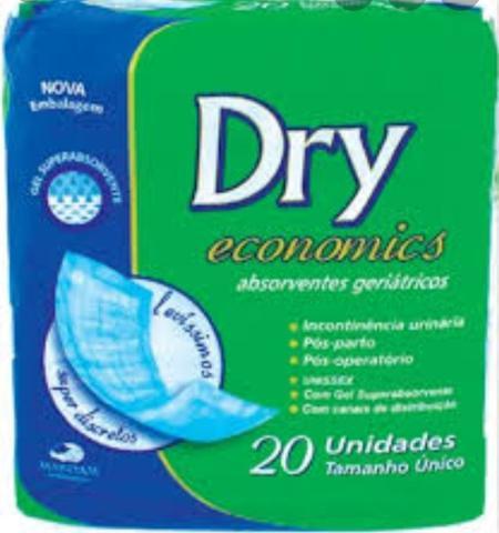 Imagem de Absorvente Geriátrico C/ 20unid. -  Dry Economics