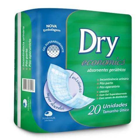 Imagem de Absorvente Geriátrico Dry Economics 20 Unidades