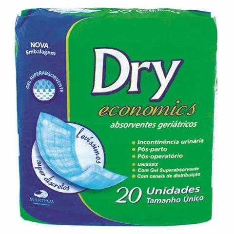 Imagem de Absorvente Geriátrico Dry Economics Com 20 Unidades