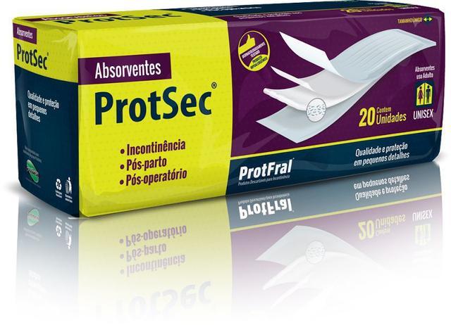 Imagem de Absorvente Geriátrico Protsec 20 unidades