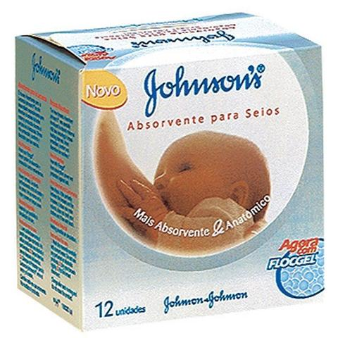 Imagem de Absorvente Para Seios Johnson's Com 12 Unidades