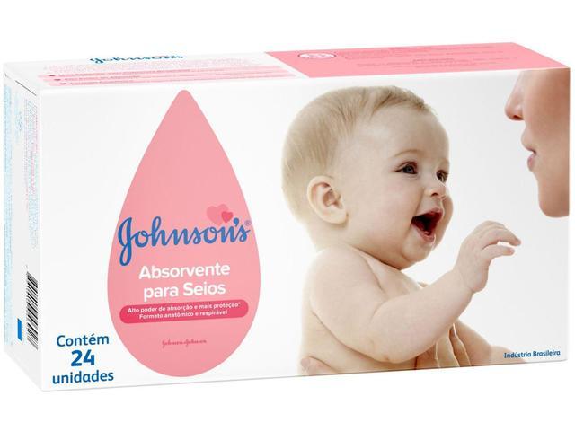 Imagem de Absorvente para Seios Johnsons 24 Unidades - Tam. Único