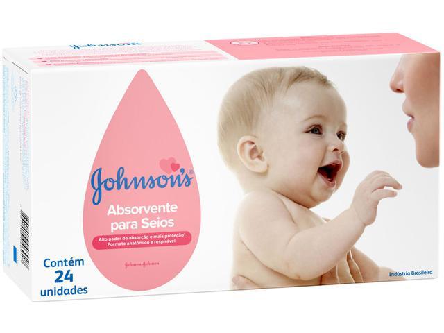 Imagem de Absorvente para Seios Johnsons 24 Unidades