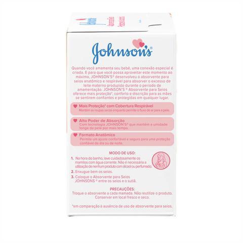 Imagem de Absorventes para Seios JOHNSONS 12 unidades