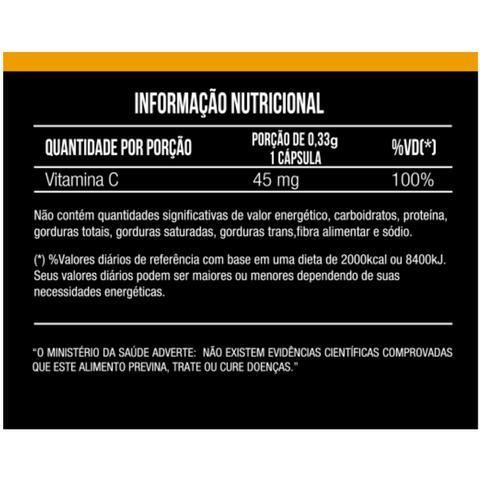 Imagem de Acerola Vitamina C 500mg 60 capsulas