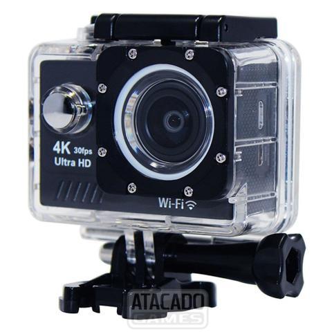 Imagem de Action Cam Wifi Câmera Capacete Esporte Mergulho Hd 1080p 4k