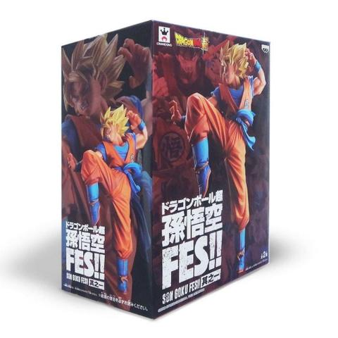 Imagem de Action Figure DBZ Goku FES!! Bandai