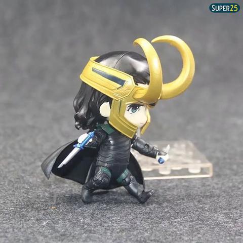 Imagem de Action Figure Loki Nendoroid Estilo Funko Pop Boneco Estátua