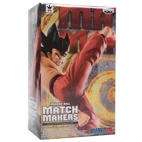Imagem de Action Figure Son Goku Match Makers - Dragon Ball - Banpresto