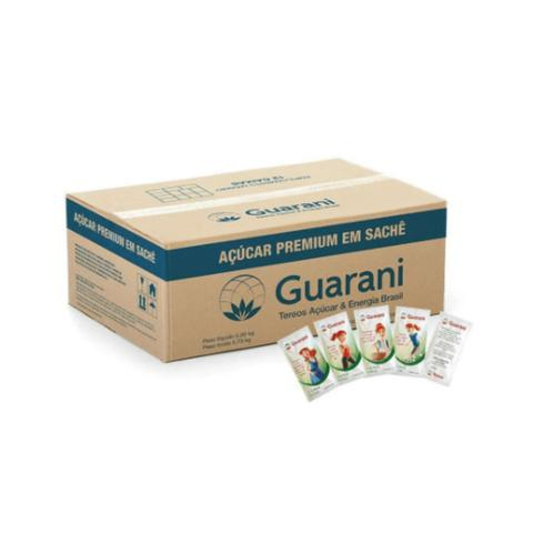 Imagem de Açúcar refinado guarani sachê 5g caixa 1.000 unidades
