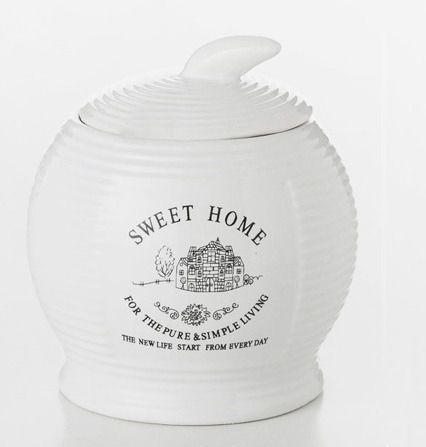 Imagem de Açucareiro De Porcelana Sweet Home Lyor
