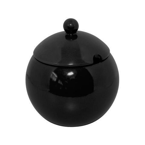 Imagem de Açucareiro Em Cerâmica 300g Preto 152106 Mondoceram Gourmet