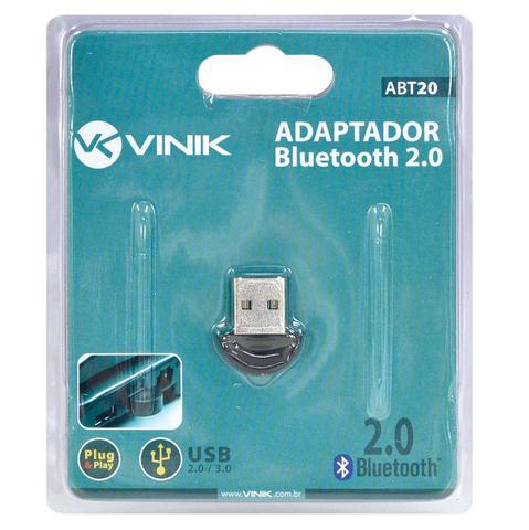 Imagem de Adaptador Bluetooth 2.0 Mini USB para PC e Notebook ABT20 Vinik