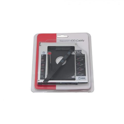 Imagem de Adaptador caddy para segundo HD ou SSD 12.7mm p/ Notebook