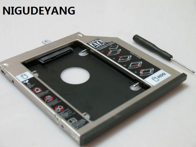Imagem de Adaptador Caddy Para Segundo Hd Ou Ssd 2.5 Sata 12,7mm