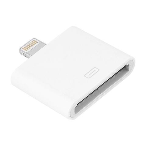 Imagem de Adaptador conector iphone 8 pinos x iphone 30 pinos