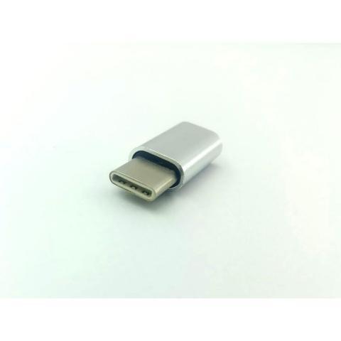 Imagem de Adaptador conversor entra micro usb sai tipo-c type c