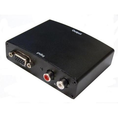 Imagem de Adaptador Conversor VGA para HDMI com Áudio 1280x1024