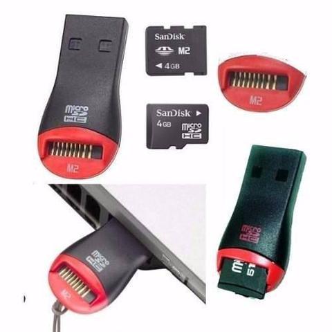 Imagem de Adaptador De Cartão De Memória USB 2.0 Micro Sd