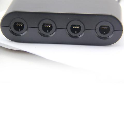 Imagem de Adaptador De Controle Gamecube Para Nintendo Wii U 4 Portas
