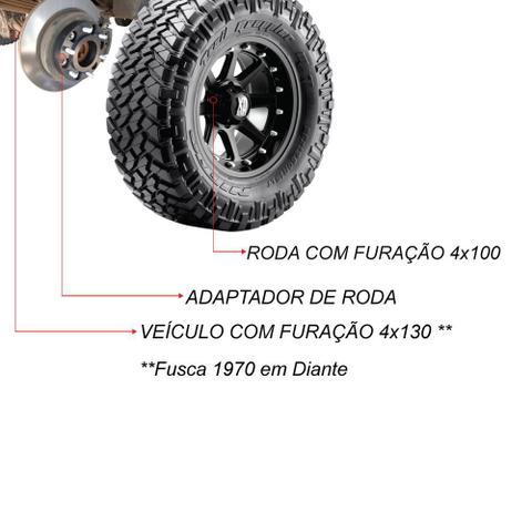Imagem de Adaptador de Roda AVM 4HAD4 4x130 para 4x100 1.25