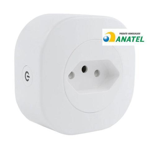 Imagem de Adaptador de Tomada HISP10ABV Inteligente 10A Geonav com Wi-Fi Branco Bivolt