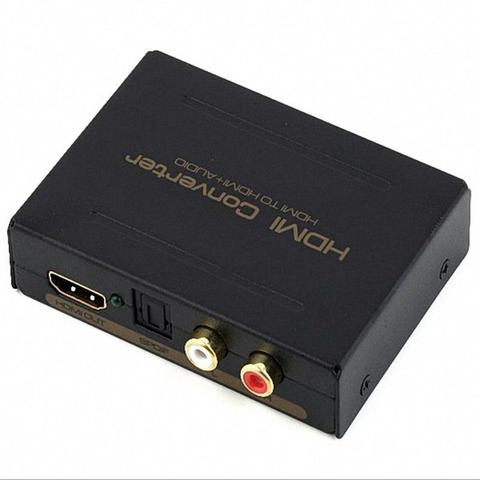 Imagem de Adaptador Extrator Hdmi Audio Toslink Spdif Stereo 2c/5.1ch Interface audio