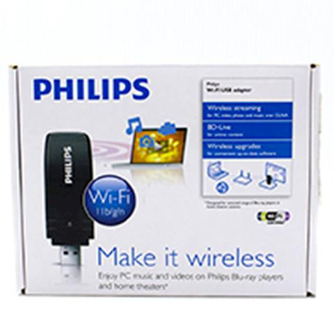 Imagem de Adaptador Philips Usb Wifi Pc Home Theater Tv Wub1110/00