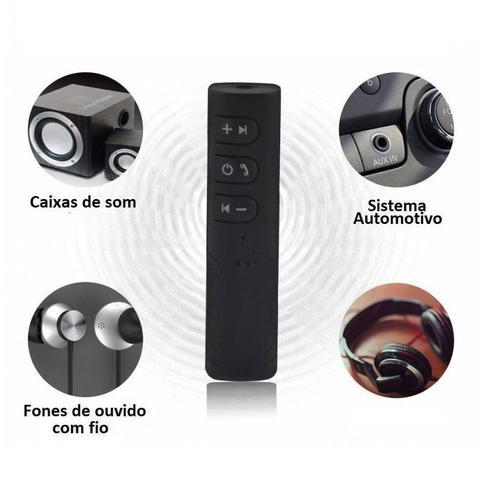 Imagem de Adaptador Receptor Bluetooth Veicular P2/P2 Audio Trusiner