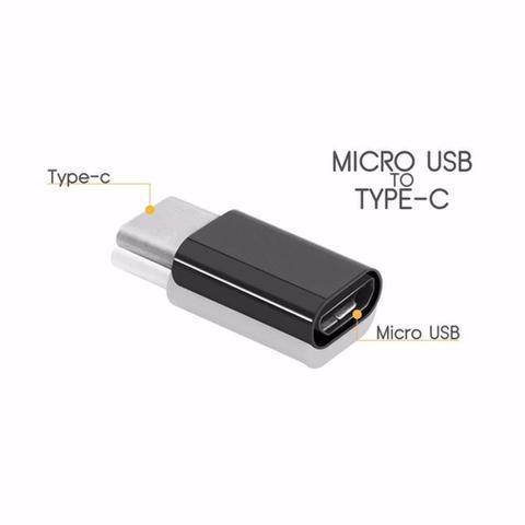 Imagem de Adaptador Usb Tipo Type C Usb 3.1 Para Micro Usb Conversor
