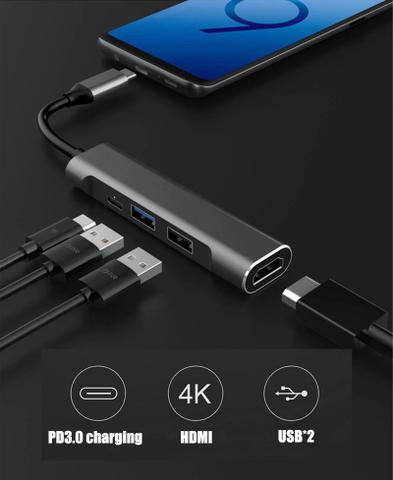 Imagem de Adaptador USB Type C para HDMI 4K USB 3.0 - Samsung DEX