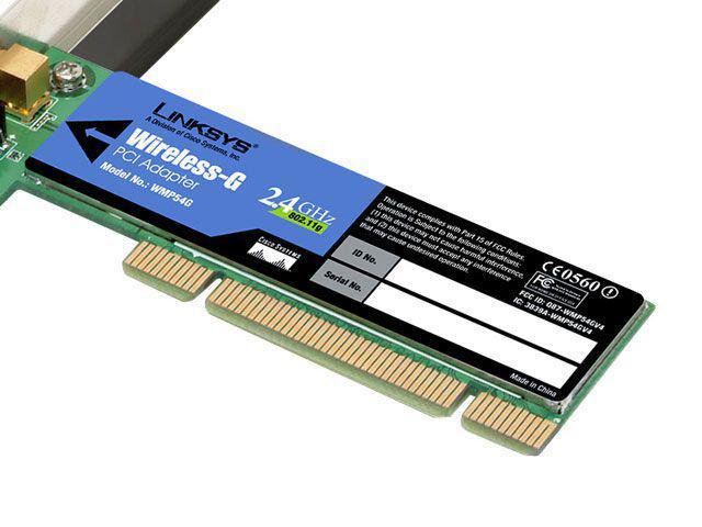 Imagem de Adaptador Wireless PCI 54 Mbps