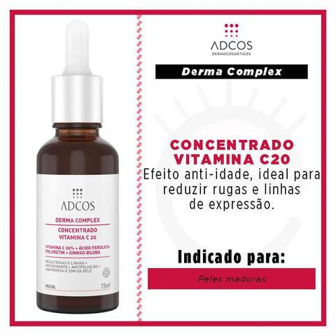 Imagem de Adcos Derma Complex Concentrado Vitamina C 20 Sérum Anti-Idade
