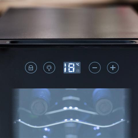 Imagem de Adega Climatizada 12 Garrafas Por Compressor Electrolux Preto