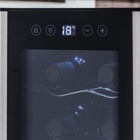 Imagem de Adega Climatizada 8 Garrafas Por Compressor Electrolux Preto